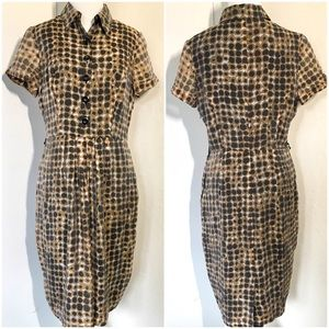 Adrianna Papell Button Front Dress 10